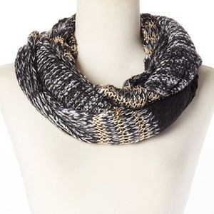 "Betsey Johnson ""Unchained"" Infinity Scarf."